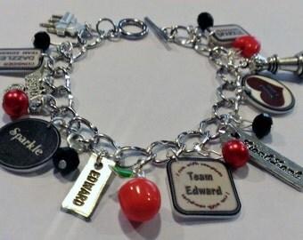 Edward Themed Charm Bracelet