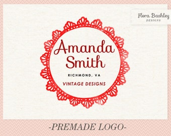 Custom Logo Design Premade Logo and Watermark - FB102