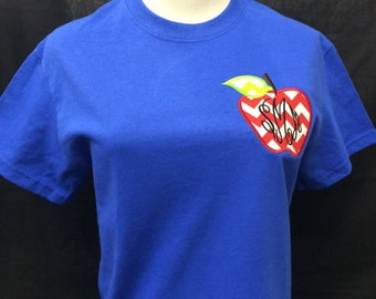 Teacher Applique Tee