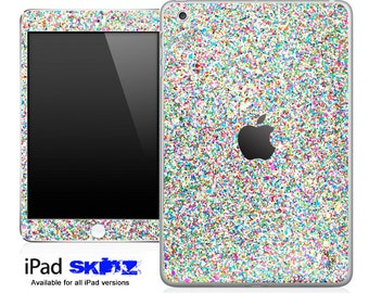 Colorful Sparkles Skin for the iPad Mini, iPad 1st, 2nd, 3rd or 4th Generation