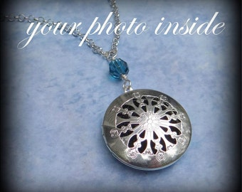 Custom Photo Locket Necklace
