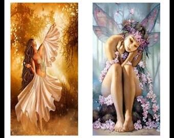 Fairy - Fairy Prints - Digital Download Sheet - Digital Collage Sheet - Faires - Scrapbooking - Dominoe Prints - Dominoes - Jewelry - DDP267