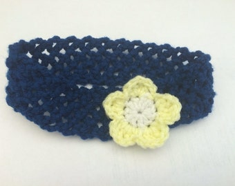 Super stretchy headband with or without flower