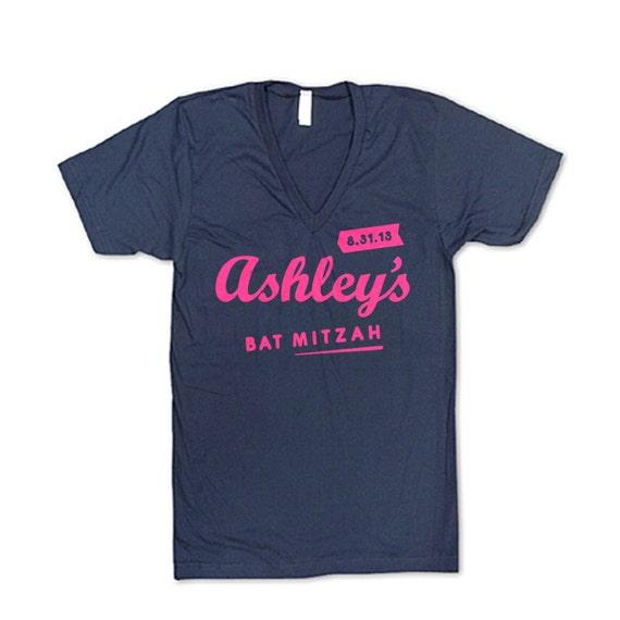 Custom bar mitzvah t shirts for Custom bar t shirts