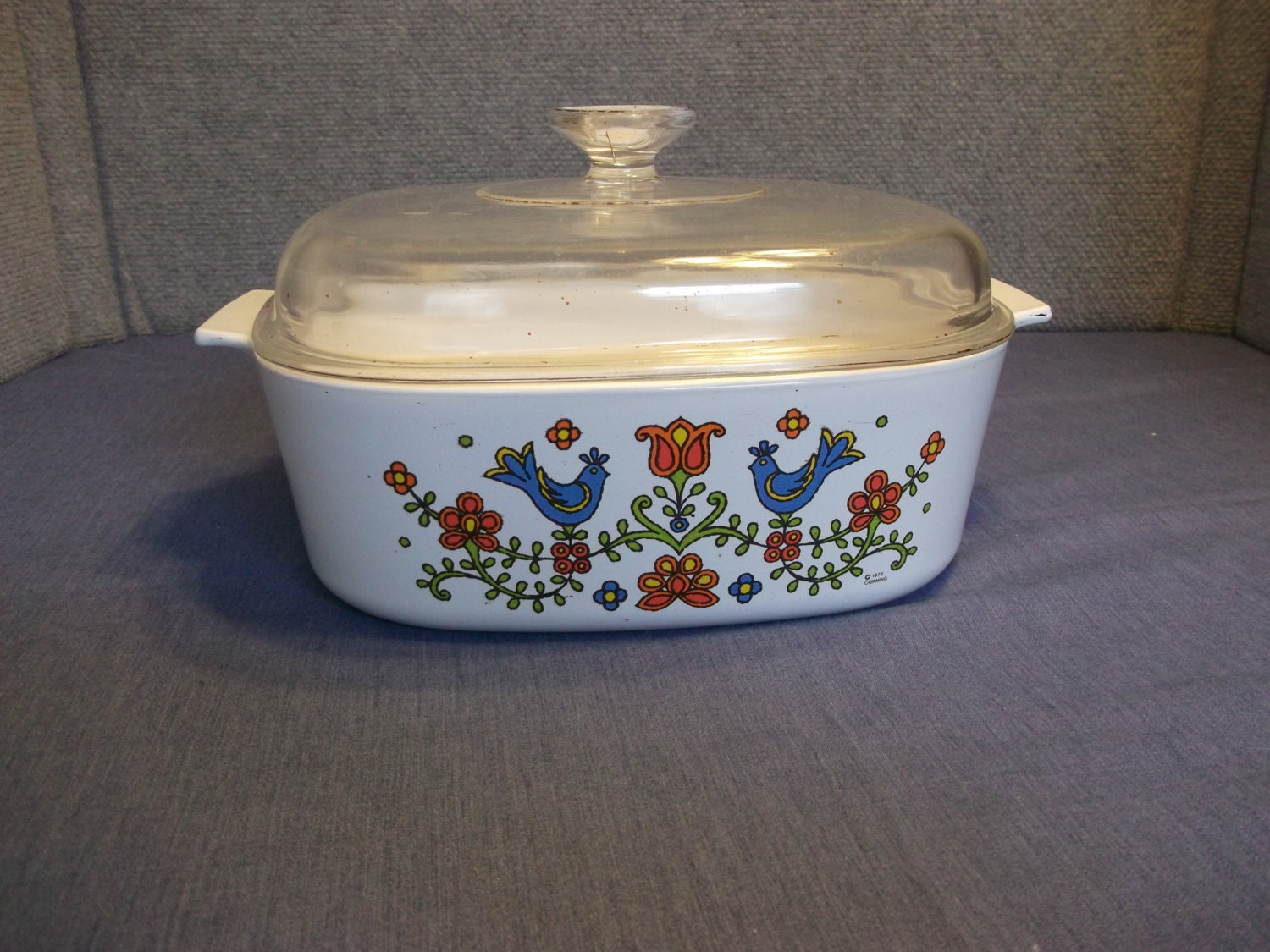 Corning Casserole Dish With Lid Vintage Corning Ware With