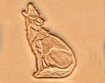Howling Coyote Leather Stamping Tool