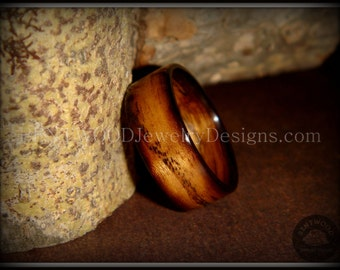 "Bentwood Ring - ""Ole Smoky"" Olive Wood Ring  - custom handcrafted steam bent wood rings - durable, unique, one-of-a-kind wearable art."