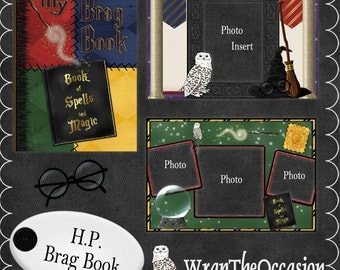 Harry P Wizard Themed Brag Book