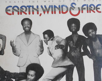 Earth, Wind and Fire - Thats The Way Of The World - vinyl record