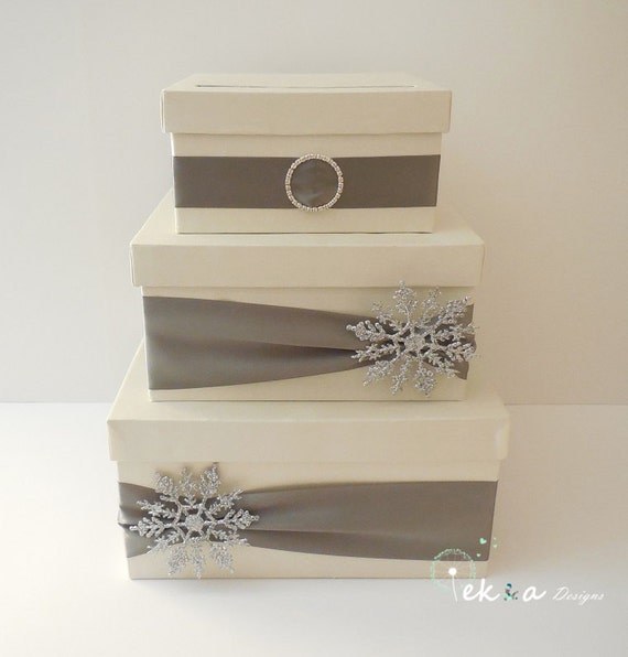 Metal Decorative Wedding Gift Card Holder Box : Wedding card box / money box / card holder / gift card box / 3
