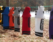 Kids Custom Handmade Crayon Costumes/Choice of sizes and Colors/