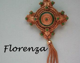 Florenza Dangle Brooch - 3175