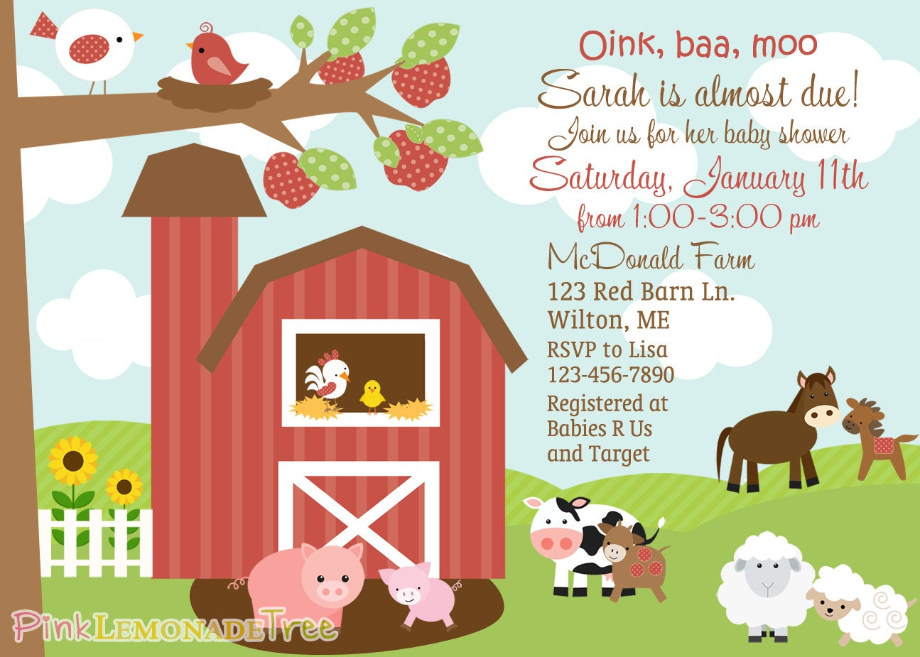 Farm Themed Baby Shower Invitation Farm Animals Barn On The. Room Panels. Decorative Storage Bins And Baskets. Dinner Room Set. Christmas Tree Fish Tank Decoration. Glass Living Room Table Sets. Wall Decor Set Of 3. Dining Room Hutch And Buffet. Nautical Wall Decor