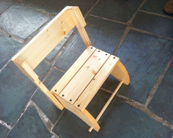 Unfinished Step Stool That Folds into a Chair & Unfinished childrens step stool | Etsy islam-shia.org