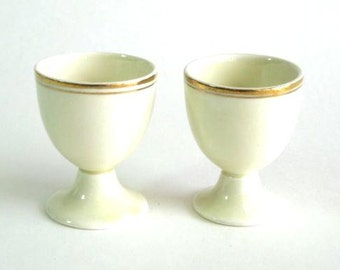 English Egg Cups -- Unknown Maker