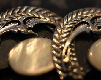 Fabulouse Vintage Ermani Bulatti Art Nouveau Earrings.
