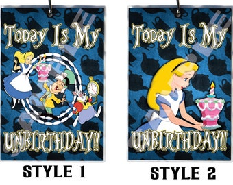 Alice UnBirthday Badges