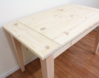 Unfinished Farmhouse Table / Dinning table / Kitchen Table