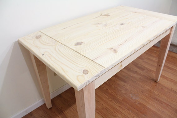 Captivating Unfinished Farmhouse Table / Dinning Table / Kitchen Table