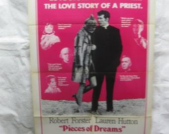 Pieces Of Dreams 1970 70/265 Movie Poster mp026