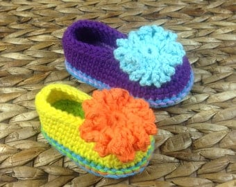 Crochet Pattern * Funny Shoes  for Babies and Toddlers * PDF * Double Sole  * Instant Download Pattern # 431 + a gift *