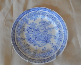 FRANCE LUNEVILLE the COTTAGE Plate