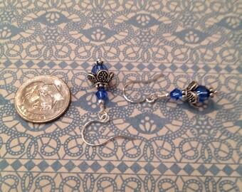 Bali Blue Earrings