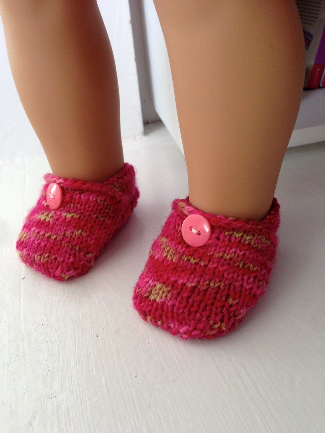 American Girl Doll Knit Toms Shoes Knitting Pattern