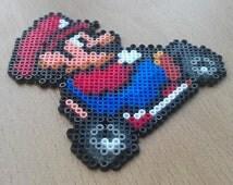 Super Mario Kart Bead Sprites. Choose Luigi or Mario