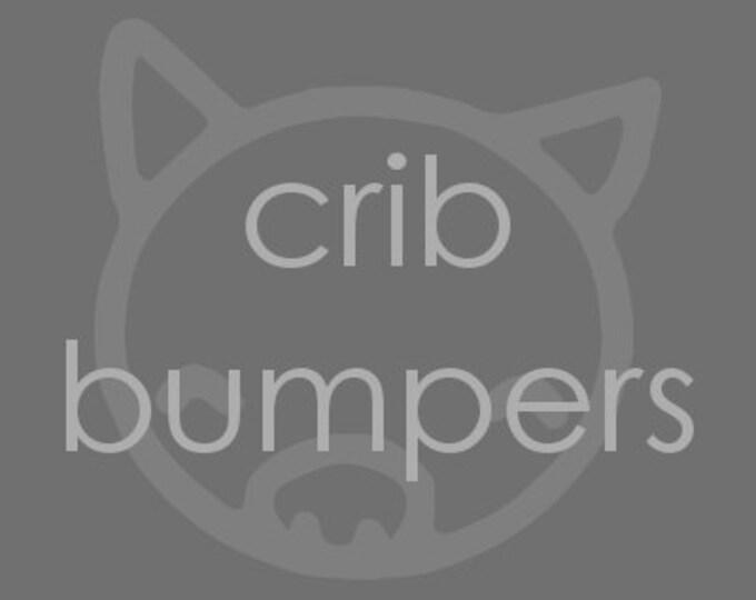Add On Custom Crib Bumpers