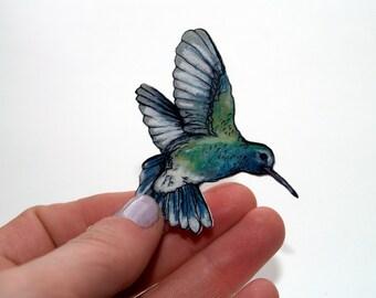 Hummingbird Badge/Brooch