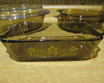 50% OFF SALE!  Set of Vintage Casserole Dishes