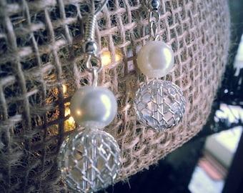 Mermaid Pearl Dangle Earrings
