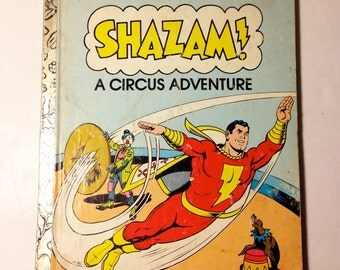 1977 Shazam DC Comics childrens book.