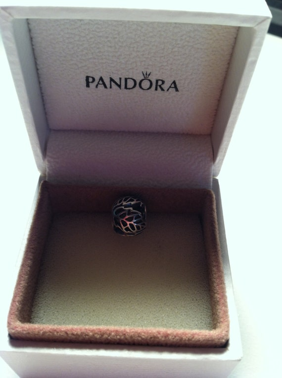 authentic pandora autumn bliss charm 791190 sterling silver