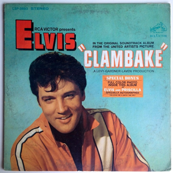 Elvis Presley Clambake Original Motion Picture Soundtrack
