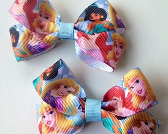Disney Princesses Hair Bow Clip