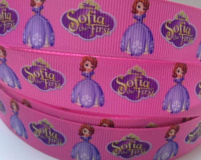 "SALE Princess Ribbon Discounted Grosgrain Ribbon By The Yard  7/8"""