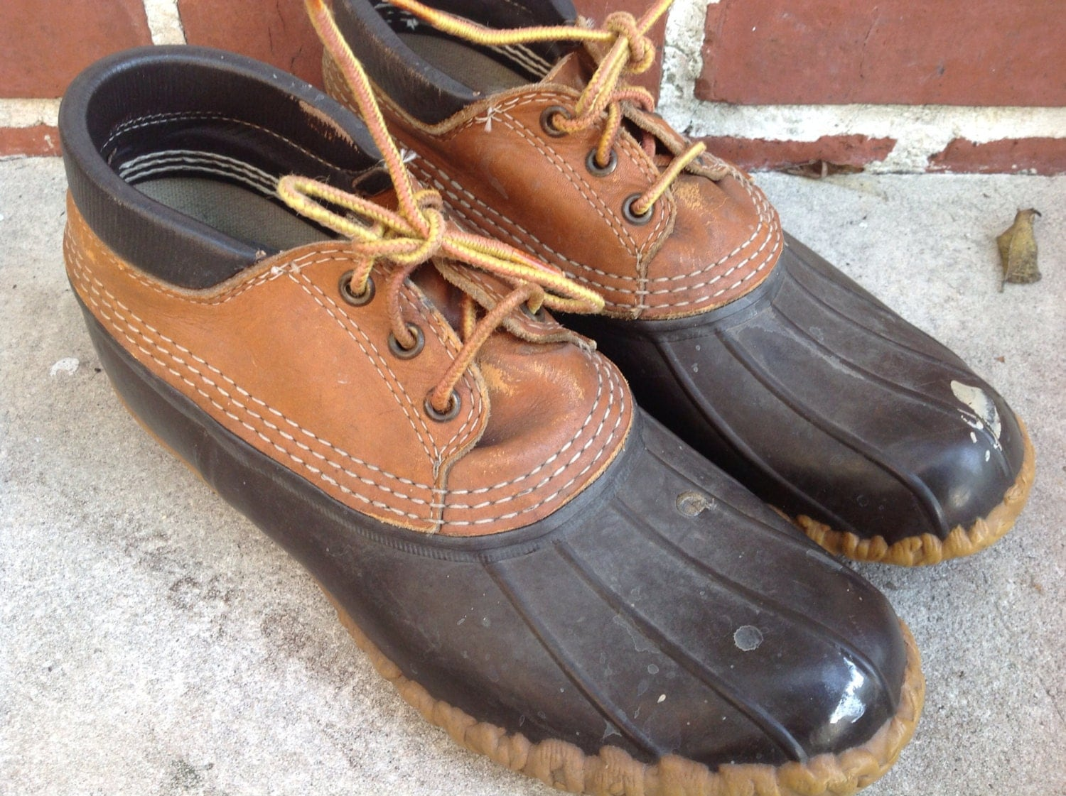 vintage ll bean ankle duck boots cing boots bean boots m8