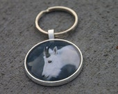 Mountain Goat Keychain...FREE Shipping