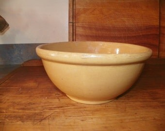 Antique Yelloware Bowl~SALE~