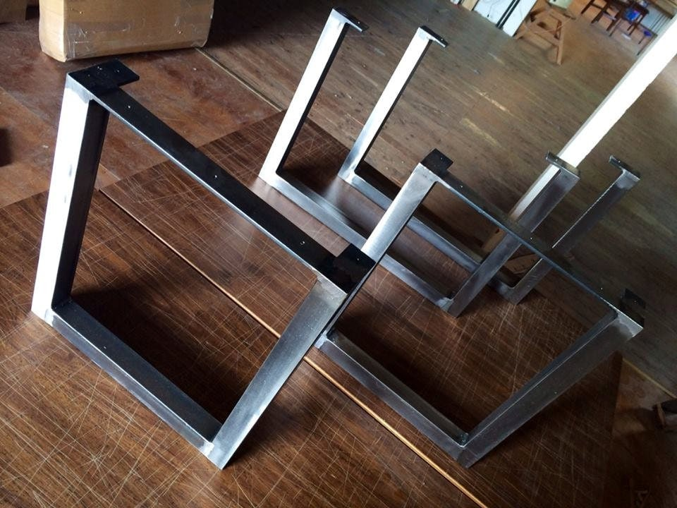 Brushed Square Metal Legs Table Legs Steel Legs Dining Legs