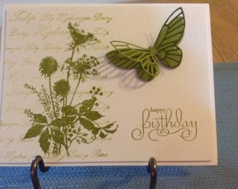 Pretty Summer Birthday Card