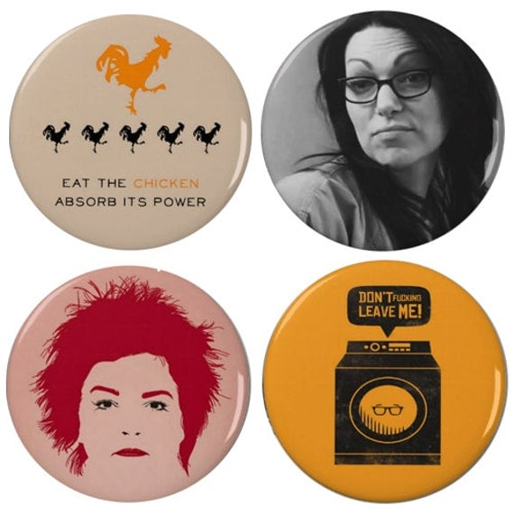 "Orange Is The New Black 2.25"" Pinback Buttons (4 Pack)"
