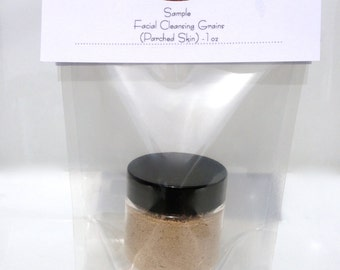 Facial Cleansing Grains - Hydration (Parched Skin) SAMPLE Size 1oz