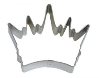 """3.5"""" Crown Cookie Cutter birthday party treats decorations crafts King Queen princess baking supplies 0899"""