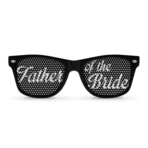 product white bridal party sunglasses