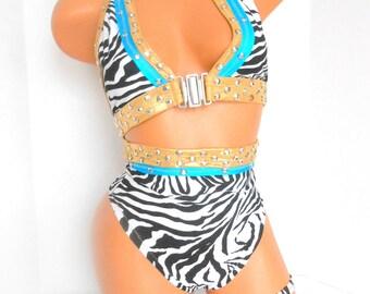 NEW>>>>Women/ Stripper / Exotic Dancer *** Zebra