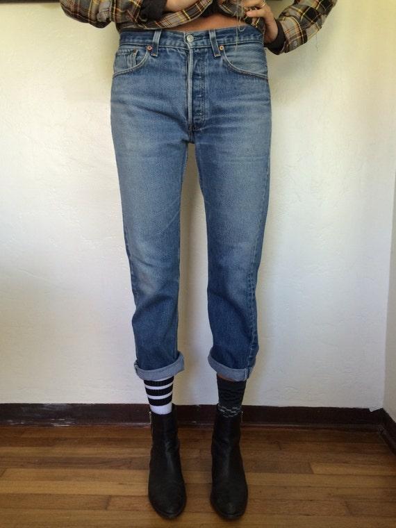 Levis 501 Boyfriend Jeans 30