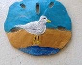 Seagull SandDollar Magnet